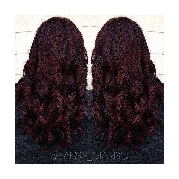It's All the Rage Mahogany Hair Color ❤ liked on Polyvore featuring beauty products, haircare and hair color