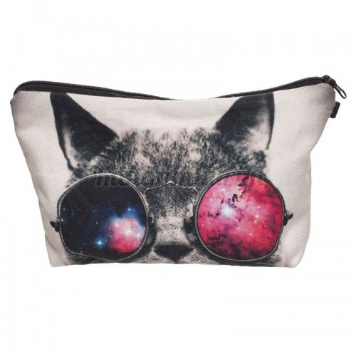 Kissa meikkilaukku