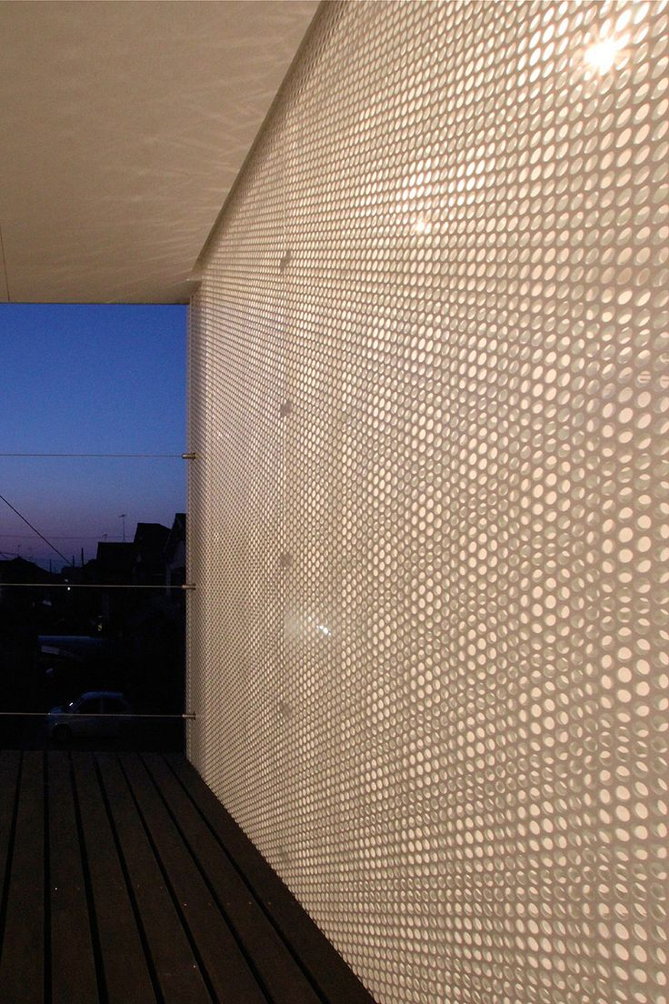 micro-perforated steel T-House Distance of Fog. Studio Green Blue. - STGO - Estudio arquitectura, web y multimedia   STGO - Estudio arquitectura, web y multimedia