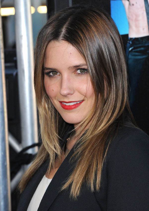 sophia bush hair color | Sophia Bush's Red-Orange Lip: How To Get The Look - Yahoo! omg!