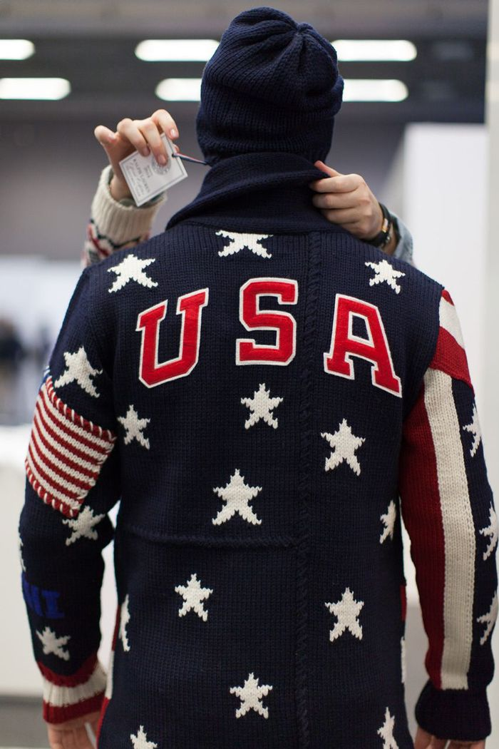 Team USA: Sochi 2014  Behind the scenes at Team Processingfor theSochi 2014 Olympic Winter Games: Team Ralph Lauren puts finishing touches on the Official Team USA Parade Uniform fittings