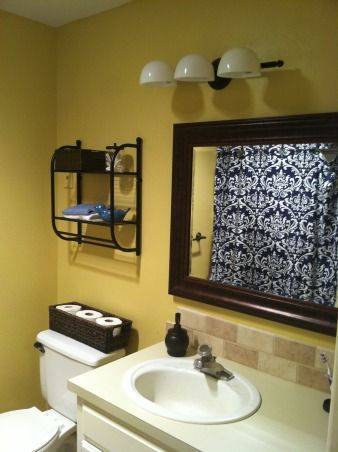 best 25 blue yellow bathrooms ideas on pinterest yellow gray bathrooms blue yellow rooms and. Black Bedroom Furniture Sets. Home Design Ideas