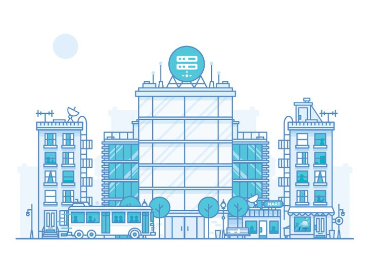 Dribbble - City Analytics by Nick Slater