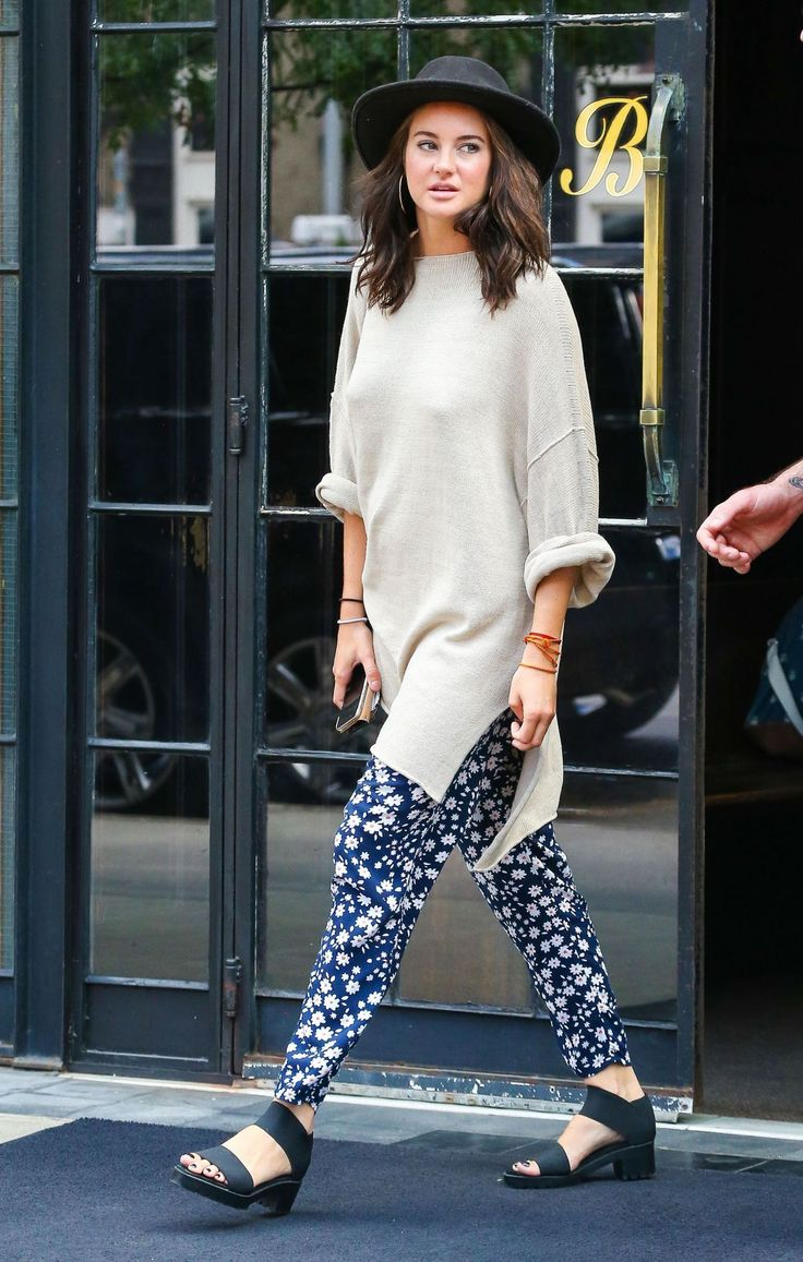Shailene Woodley casual-style-out-in-new-york-city