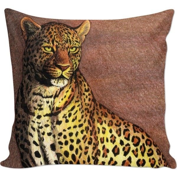 Panther Couch Pillow 30 Liked On Polyvore Featuring Home Home Decor