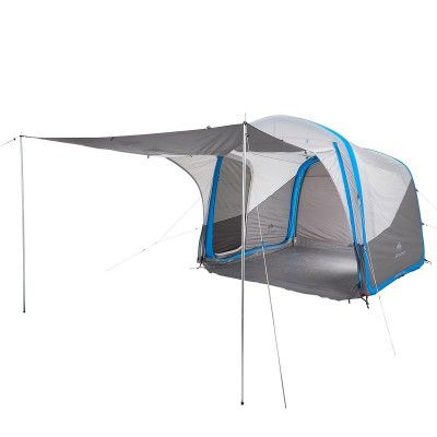 35 - Hiking Camping - Air Seconds Base XL Inflatable Camping Shelter QUECHUA - Tents