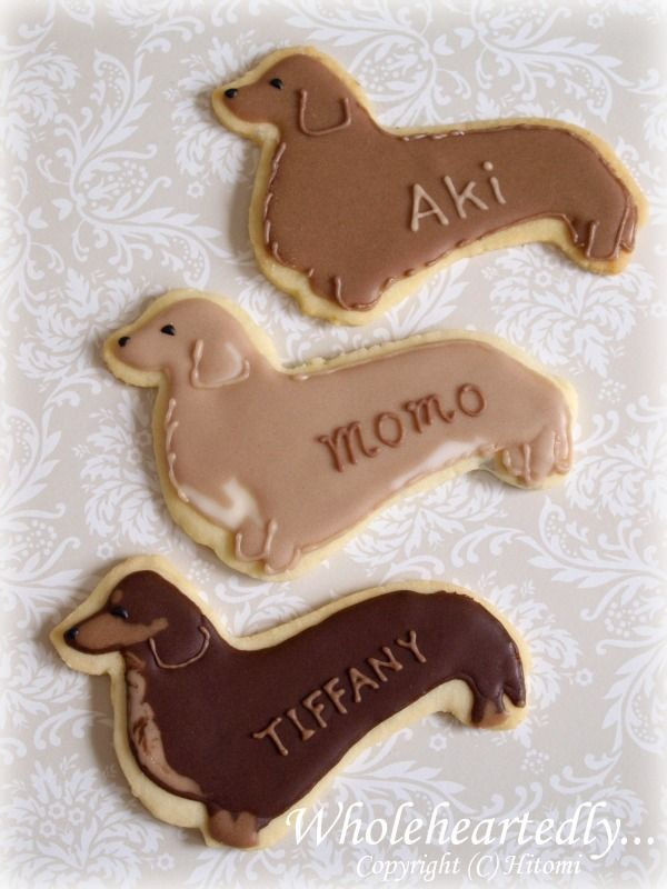 doggie cookies by Hitomi