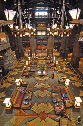 Grand Californian at Disneyland!  Staying here in September!  Can't Wait!