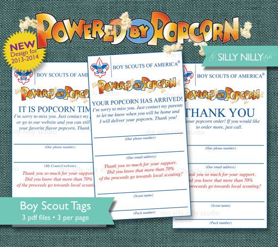 AUTOMATIC DOWNLOAD Boy Scouts Powered by by thesillynillystudio, $4.99