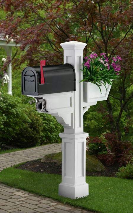 Classy Mailbox Post The Best Nest Pinterest Mailbox