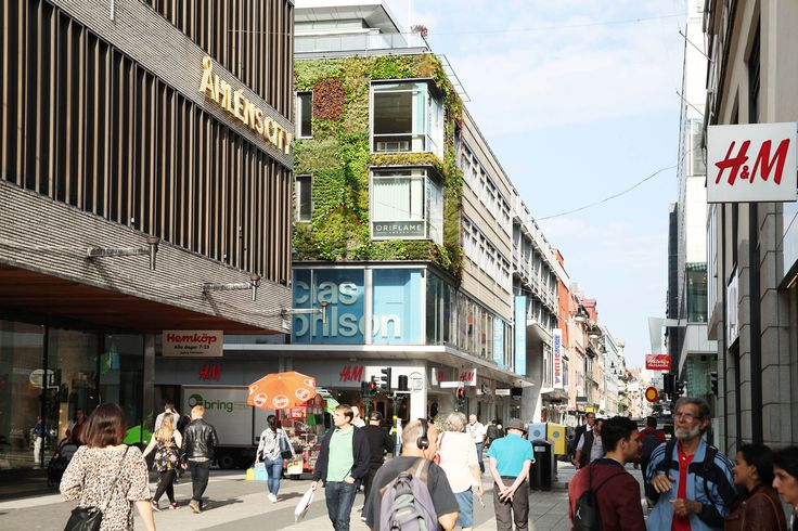 We stand for a greener environment. Take a look to our new project for Klara Zenit, in the centre of Stockholm!