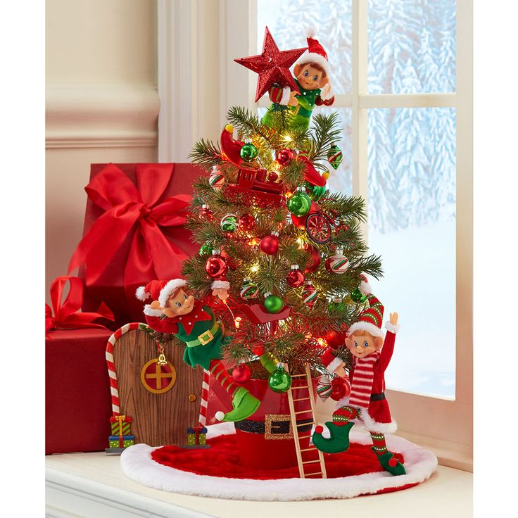 Add A Touch Of Whimsy To Your Holiday Decor When You Make This Santa  Workshop Miniature