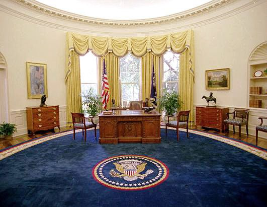 Presidential Style: Oval Office Rugs President Bill Clinton Oval Office Rug