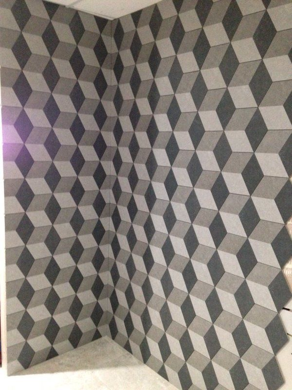 A timeless combination of black and white in a strong and eye catching pattern will always make for a spectacular feature. Whether used as a backsplash or adorning an entryway floor, geometric tiles are the ideal talking point.  Bringing this trend into 2016, materials and shapes will be experimented with to create a fresh approach. Watch out for hexagon tile patterns and even geo printed