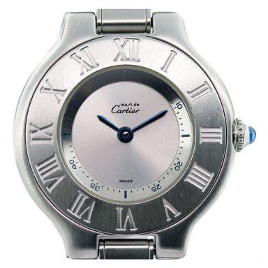 Cartier Stainless Steel Must de Cartier Ladies Watch