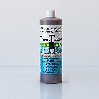 RV Holding Tank Cleaner Treatment Black Gray Water Marine Portable Camper 16 oz
