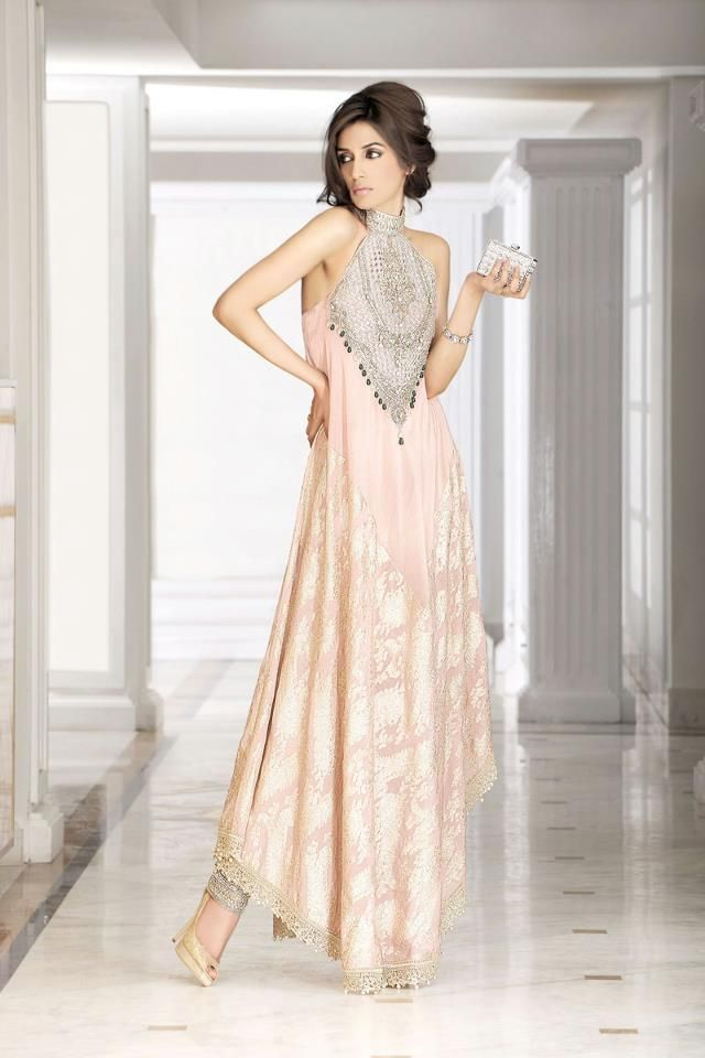 rouge light pink - Pakistani fashion