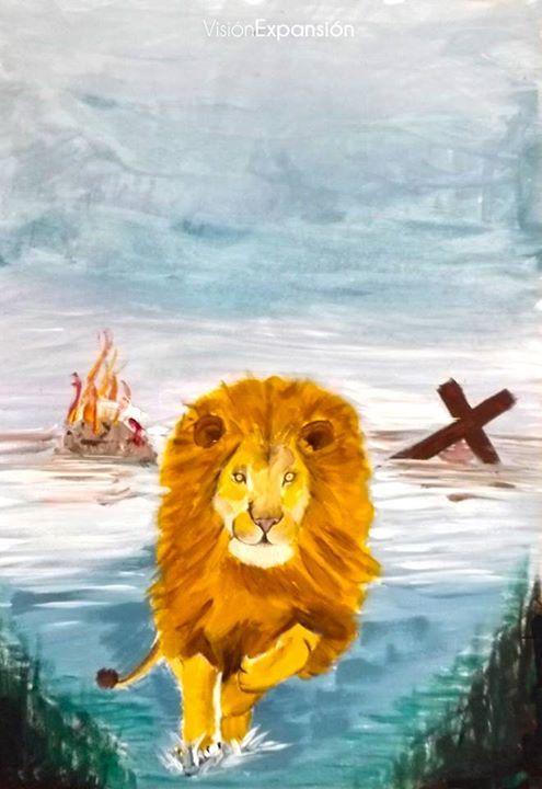 Crucificado como un cordero Resucitado como un León