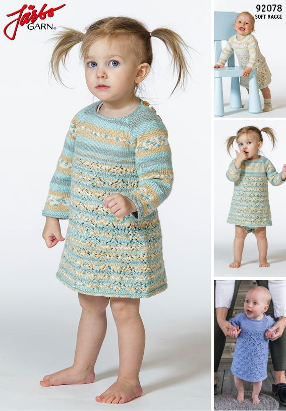 Baby dress in our Soft Raggi.