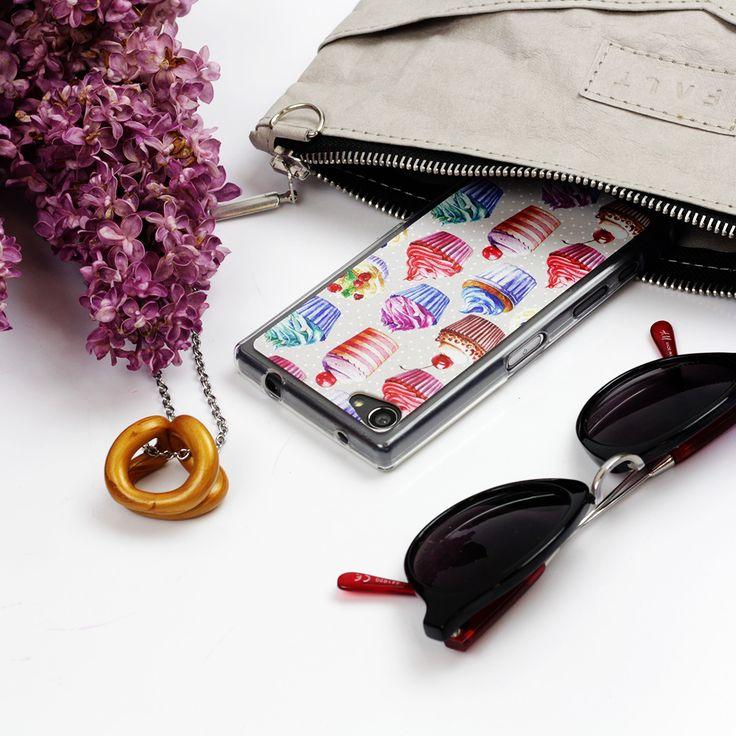 Słodkie, kolorowe babeczki na etui do telefonu: http://www.etuo.pl/etui-na-telefon-kolekcja-food-porn-kolorowe-babeczki.html #case #etuo #cupcake #sweets