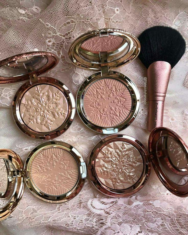 Mac makeup snow ball blush highlighter
