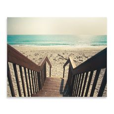 Beach Stairs Photo Wall Art Bed, bath and beyond $29.99