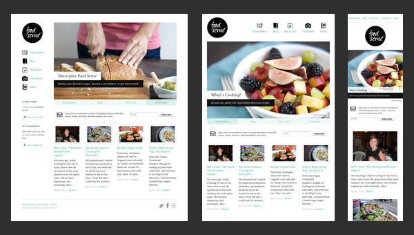 Examples of responsive sites