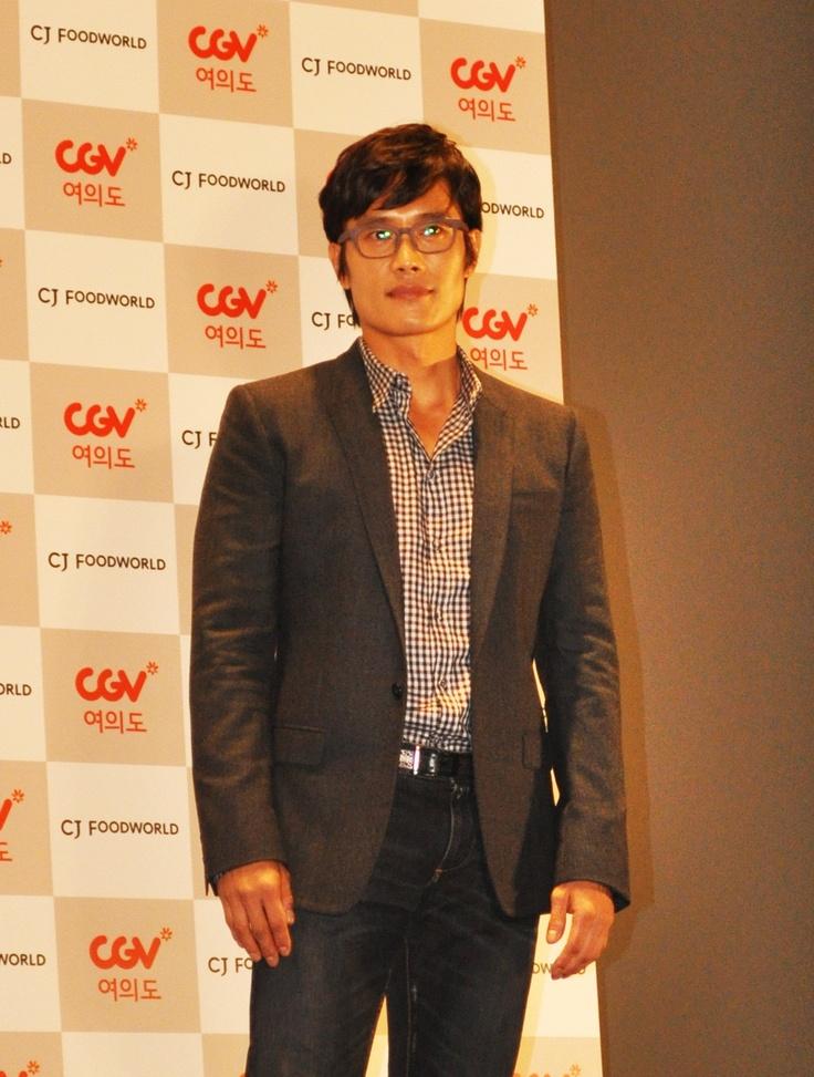 CGV여의도에서 열린 영화 '광해, 왕이 된 남자' 톡 플러스 행사에서 본 이병헌.