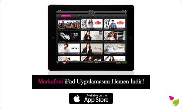 iPad uygulamamızla moda ve alışveriş tutkunlarının her an, her yerde yanındayız! Siz de mobil uygulamalarımızdan cihazınızla uyumlu olanını indirin, Markafonik aşkı her yerde yaşayın! https://itunes.apple.com/app/id301344410 #markafoni #iphone #download #app #teknoloji #alisveris #apple #shopping #moda #fashion #windows8 #blackberry #ipad