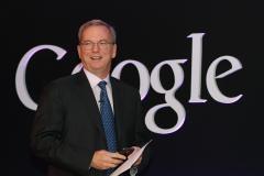Eric Schmidt, executive chairman of Google Inc.