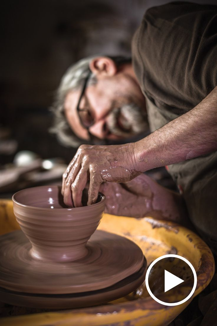 We looked back through our film archives to find this rare footage of British potter Phil Rogers working in his studio. Watch to learn more.