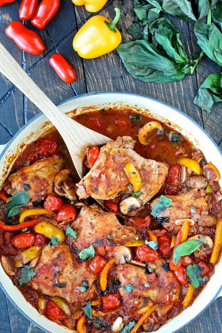 Γρήγορη και εύκολη κοτόπουλο Cacciatore |  @foodiephysician