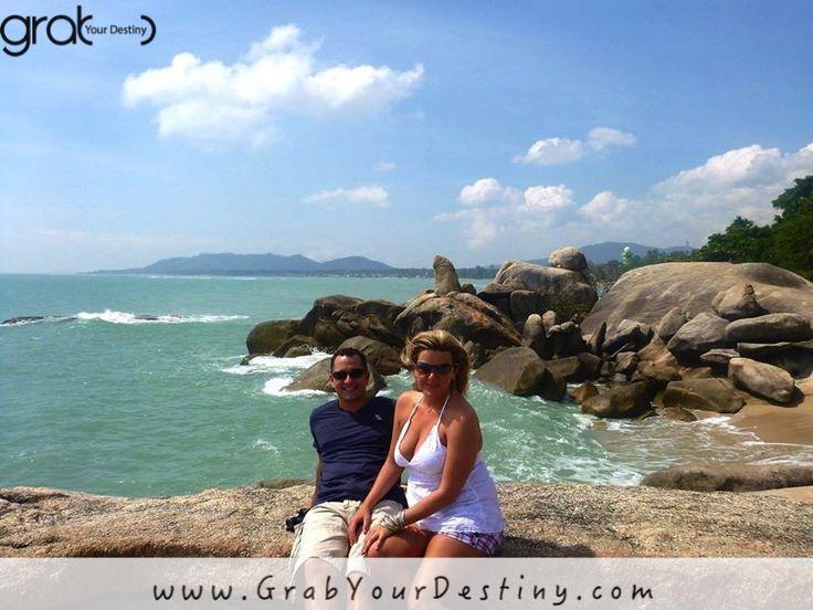 An afternoon walk on the waterfront :) Koh Samui, Thailand… #Travel #GrabYourDestiny #WalkOnTheWaterfront #JasonAndMichelleRanaldi #KohSamui #SunAndBeach #Thailand   www.GrabYourDestiny.com