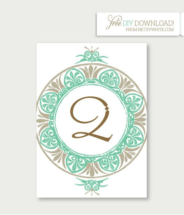 Number Names Worksheets free printable table number templates : 1000+ images about Meseros on Pinterest | Free wedding templates ...