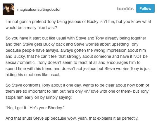 Steve Rogers and Bucky Barnes texts obsessions maybe Bucky