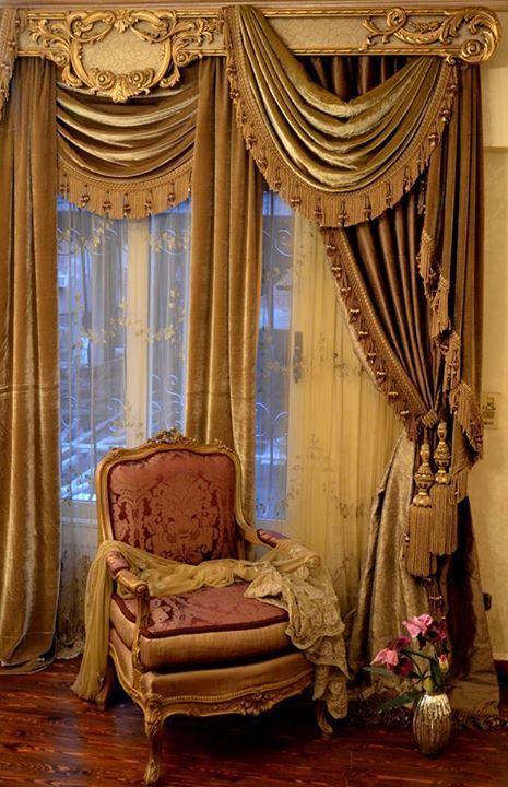 A0229482bcfb4e4d6e0e17aca5348849 465×720 Pixels · Gold CurtainsSwag  CurtainsCustom ...