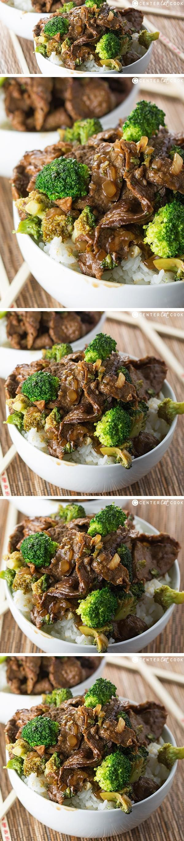 BROCCOLI and BEEF served over rice is a classic STIR-FRY recipe that will satisfy your craving for Chinese food! There's no need for Panda Express when you can enjoy this Broccoli and Beef right at home.
