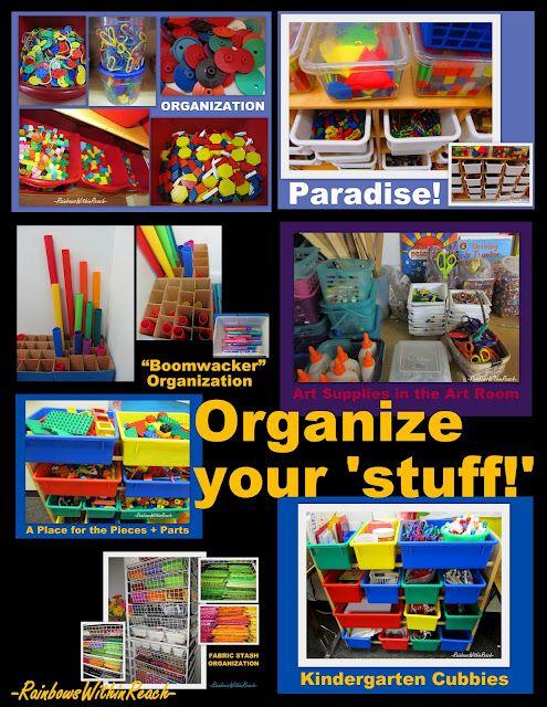 Classroom organization, teacher organization ideas, shelves in preschool
