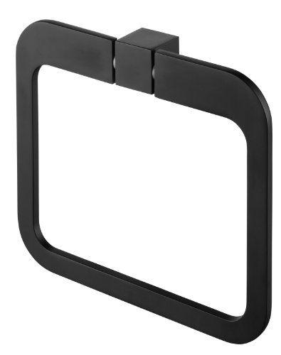 Bisk 02969 Futura Handtuchring Satiniert, 20 x 3 x 17.5 cm, Schwarz Bisk http://www.amazon.de/dp/B00BFQKY2M/ref=cm_sw_r_pi_dp_AuLpwb08ZCGR3