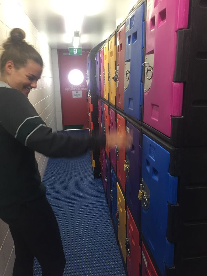 Physical environment: when lockers are available, people will more likely participate in physical activity as they have somewhere to store their things