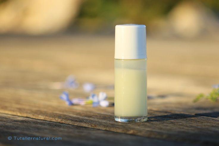 Desodorante con piedra lumbre