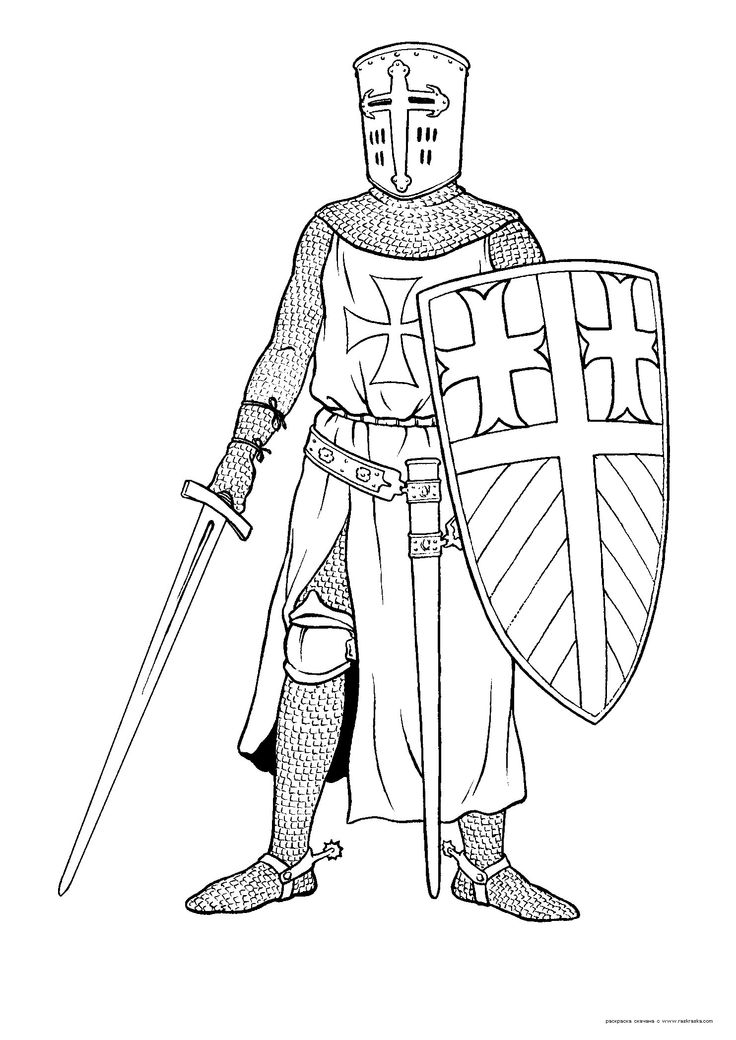194 best Coloring Knights images on Pinterest | Coloring books ...