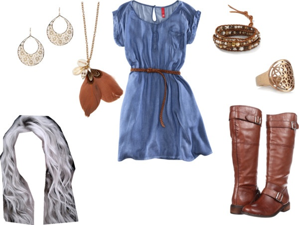 """boho"" by tavia-dawn-bechtel on Polyvore"