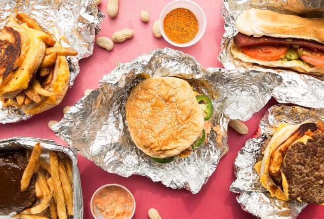Five Guys Just Might Make The BEST Fast-Food #Burger In The Country, But Beyond The Straight-Up Offerings, Thrillist Also Dug Up The Fact That They Offer Pi + Infinity Different Ways To Tweak Your Burger, via An Array Of 15 Free Toppings, and Other Delicious Shenanigans. #Foodies