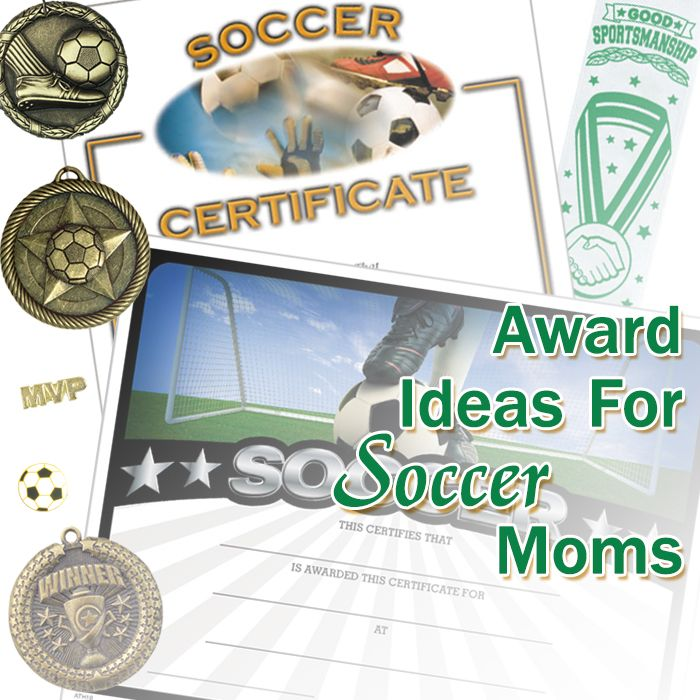 17 best images about award ideas for soccer moms on pinterest activities colors and circles for Soccer award ideas