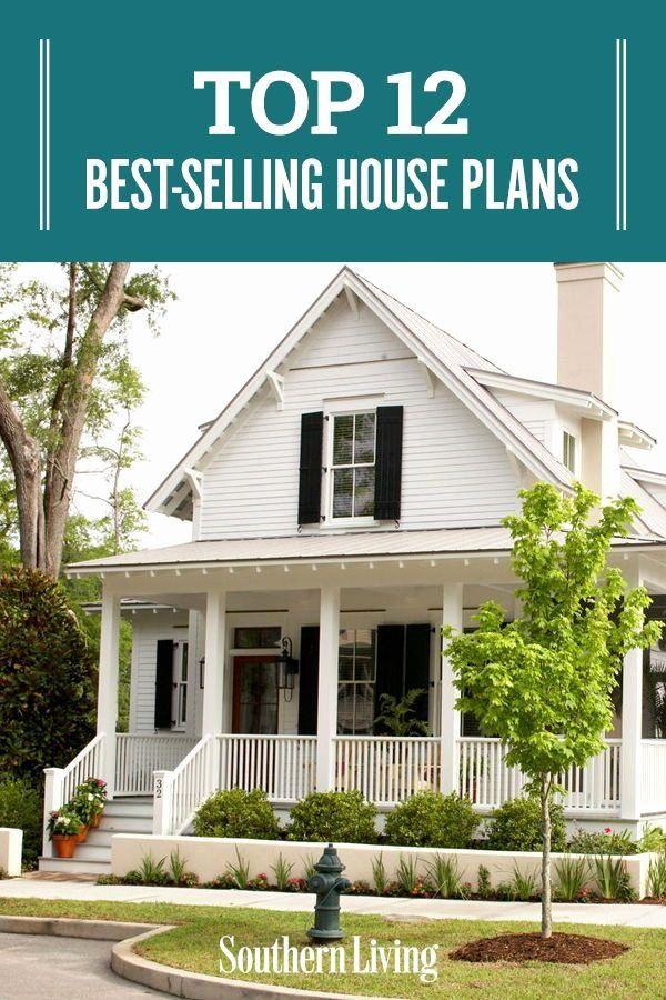 Southern Cottage Style House Plans Inspirational Top 12 Best Selling House Plans In 2020 Cottage Style House Plans Cottage Style Homes Southern Cottage