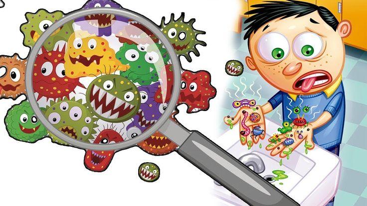 Смешные картинки микробов для детей