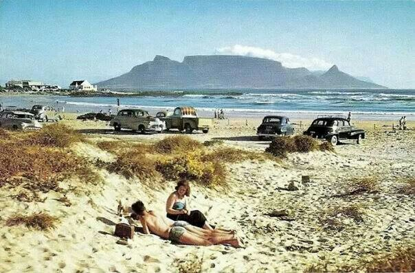 Blouberg beach in the 50's...