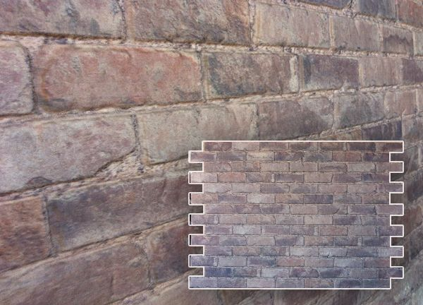 Finished Wall Skins Faux Brick Stone Cement Block
