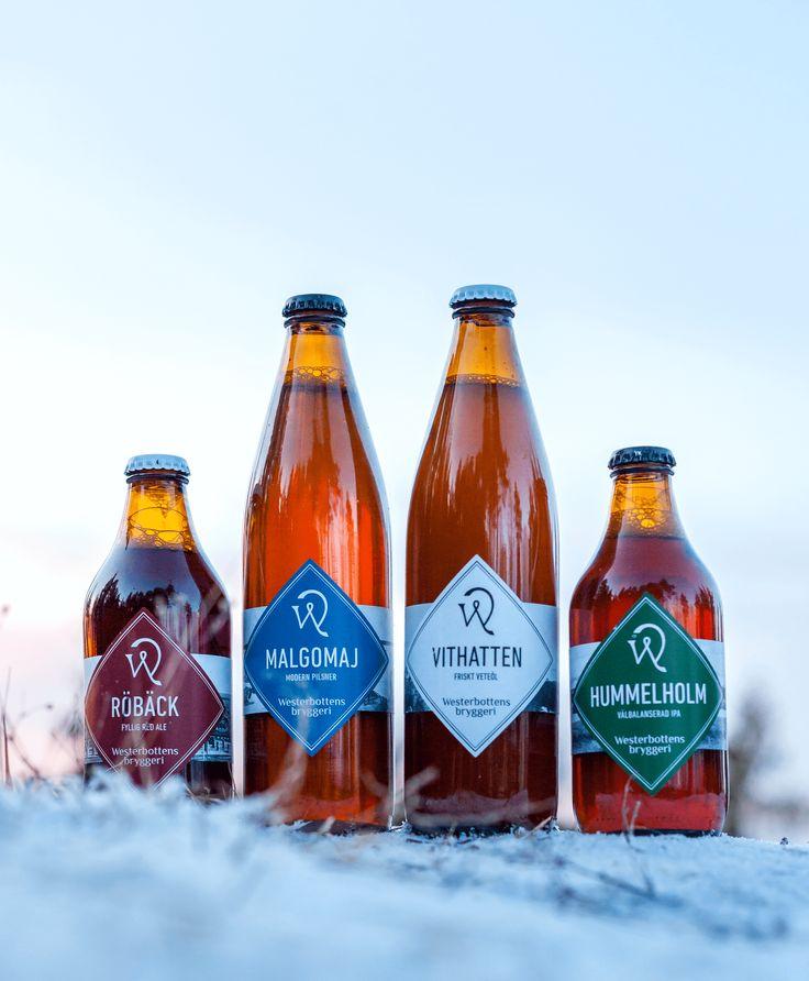 Öletikett till Westerbottens bryggeri